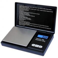 Cantar pentru Bijuterii, minim 0.01 g , maxim 100 g , Afisaj Digital LCD , Profesional , Negru