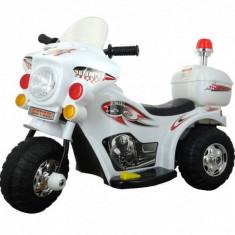 Motocicleta Electrica cu Acumulator pt. Copii Jolly Kids MB999 Alb