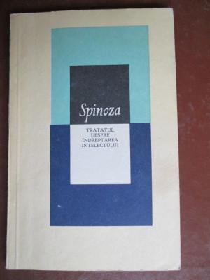 Tratatul despre indreptarea intelectului Spinoza foto