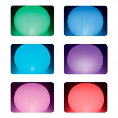 Glob plutitor cu LED Multicolor