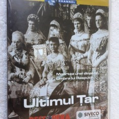 ULTIMUL TAR - dvd documentar , dinastia Romanovilor