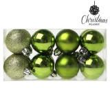 Cumpara ieftin Globuri de Craciun Christmas Planet 6479 4 cm (16 uds) Verde