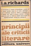 Bnk ant I A Richards - Principii ale criticii literare, Univers