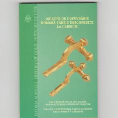 10 lei 2020 Moneda AUR - BNR - Proof  -Istoria Aurului -Tezaurul de la Carsium