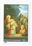 România, LP 1399/1995, Crăciun, MNH, Nestampilat