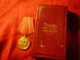 Medalia Virtutea Ostaseasca CL.I , cutie originala