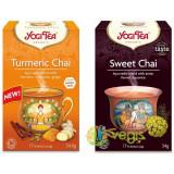 Ceai cu Turmeric Chai Ecologic/Bio 17dz + Ceai Sweet Chai Ecologic/Bio 17dz