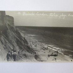 Basarabia-Budachi Cordon(Cetatea Alba):Plaja si faleza,carte post.foto circ.1936
