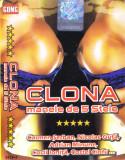 Caseta audio: Clona - Manele de 5 stele ( 2003, originala, stare f.buna ), Casete audio