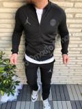 Trening AIR JORDAN PSG Paris St Germain  noul model  PANTALONI CONICI 2018-2019, XL, XXL, Alb, Negru, Rosu, Microfibra
