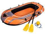 Barca gonflabila Hydro-Force Set, cu vasle + pompa Bestway, 61062