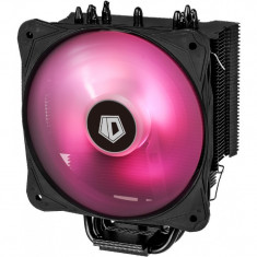 Cooler CPU ID-Cooling SE-214 RGB, Ventilator 130mm, LED RGB, 4x Heatpipe-uri...