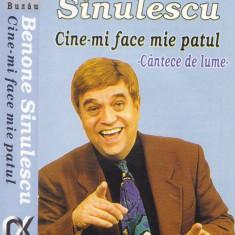 Caseta audio: Benone Sinulescu - Cine-mi face mie patul? ( 1998, originala )