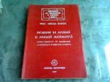 PROBLEME DE ALGEBRA SI ANALIZA MATEMATICA - Mircea Ganga