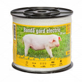 Bandă gard electric - 20 mm - 200 m - 90 kg - 9 Ω/m, AgroElectro