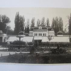 Cluj Napoca-Chioscul din parc,carte postala foto necirc.1932/reclama bere Ursus, Necirculata, Printata