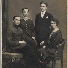 Ofiter roman Bucuresti fotografie interbelica 1926