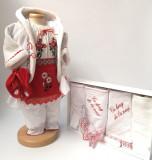 Cumpara ieftin Set Traditional Botez Fetita - Costumas + Trusou