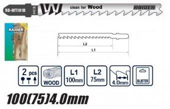 Set panze lemn ferestaru pendular 2Buc, Raider foto