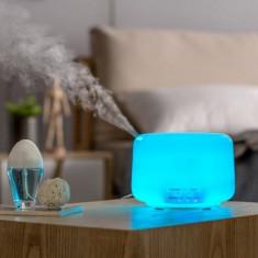 Umidificator ultrasonic cu aromaterapie si difuzor de ulei,Telecomanda