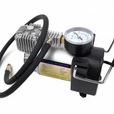 Compresor auto 35L/min, 12V (bricheta) cu cilindru metalic pentru SUV - Zebra Ciclone