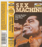 Caseta James Brown – Sex Machine, originala