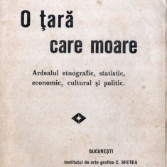 Ion Iosif Schiopul - O tara care Moare - Ardealul etnografic statistic 1916