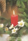 Austria, felicitare de Crăciun, circulată în România, 2003