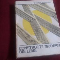 DUMITRU MARUSCEAC - CONSTRUCTII MODERNE DIN LEMN