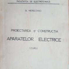 Proiectarea si constructia aparatelor electrice (curs)