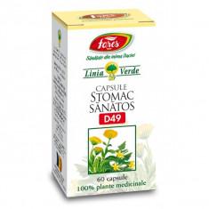 Stomac sanatos 60 capsule - Fares