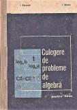 Culegere de probleme de algebra I. Stamate, I.Stoian. 1971