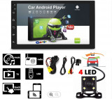 Cumpara ieftin Navigatie auto cu Android 8.1, 16 GB memorie, GPS + camera marsalier, MP5 7168