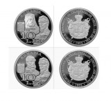 BNR 2012 Primul Parlament Guvern al Principatelor Unite 10 lei argint