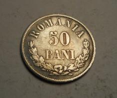 50 bani 1873 foto
