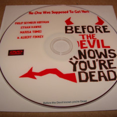 DVD - Before the devil knows you're dead, Romana