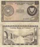 1972 (1 VI), 1 pound (P-43a.5) - Cipru!