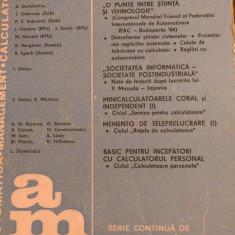 LXXC1 Automatica management calculatoare nr 48- Editura tehnica