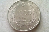 MONEDA 1000 LIRA 1994-TURCIA, Europa