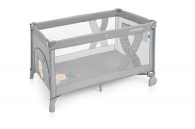 Baby Design Simple patut pliabil - 07 Light Grey 2019 foto