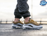 "Cumpara ieftin ORIGINALI 100 % ! Nike air max 97 ""Gold Silver "" Unisex  nr 35.5;36.5"