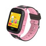 Cumpara ieftin Ceas SmartWatch Pentru Copii Motto TD 07S, Roz cu Camera Foto, Localizare GPS, Pedometru, Perimetru de siguranta, Istoric traseu