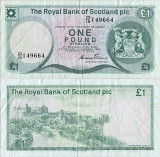 1985 (3 I), 1 pound sterling (P-341b.3) - Scoția!