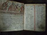 MANUSCRIS ROMANESC MINIAT 1852-1857