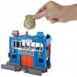 Set circuit cu masinuta Hot Wheels City, Statie de Politie, FRH33