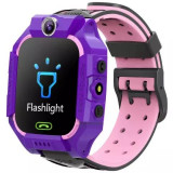 Ceas Smartwatch copii, GPS prin LBS, functie telefon,camera foto, verde, 6-10 ani, Electronic