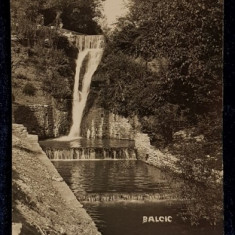 Cascada in Balcic - CP Ilustrata
