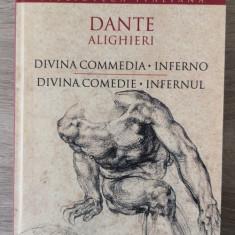 Dante Alighieri - Divina comedie (bilingv romana italiana) NOUA