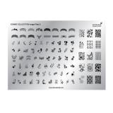 Matrita pentru unghii Konad Collection Image Plate 03