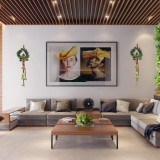 Cumpara ieftin Clopotei Decorativi pt. usa/perete (lungime 38 cm)